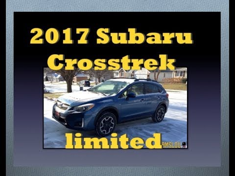 2017 Subaru Crosstrek - Limited (Quick look/walk around)