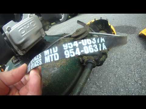 Yardman lawn mower self propelled belt replacement