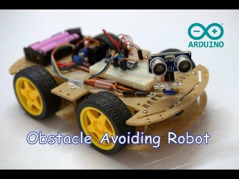 Arduino Obstacle Avoiding Robot  ( Part-III )