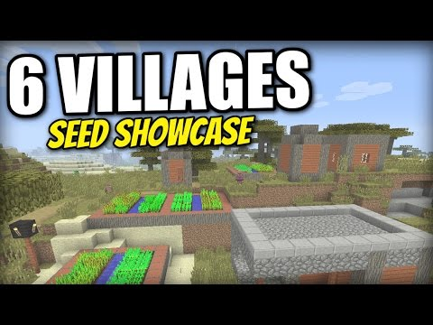 Minecraft PS4 -   6 VILLAGES - EPIC SURVIVAL SEED - ( XBOX / PS3 / WII U )