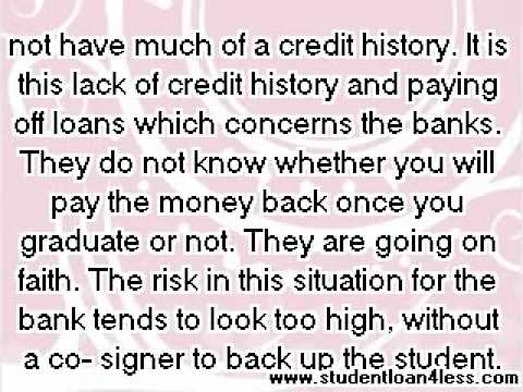 Student Loans, No Cosigner - How To Get