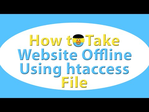 How To Take Website Offline Using htaccess file in cPanel
