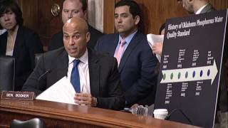 Booker Challenges EPA Nominee Scott Pruitt on Environmental Record (Part 3 of 3)