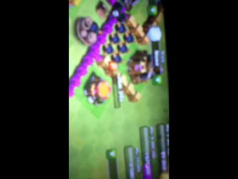 Clash of clans glitch/dark spell factory