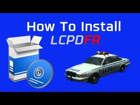 How To Install LCPDFR