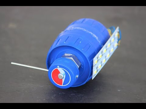 How To Make a Generator from DC Gear Motor