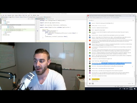 Android SQLite for Beginners 2019 Livestream