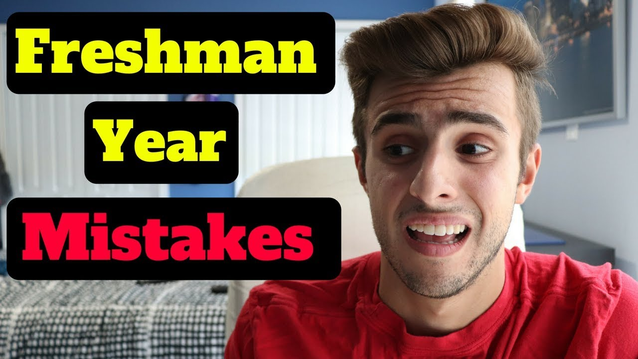 MISTAKES you *MUST* AVOID FRESHMAN YEAR of COLLEGE