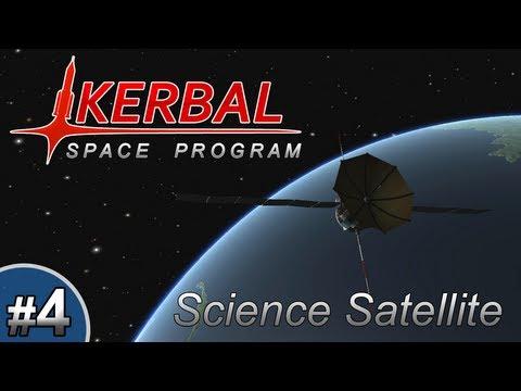 Kerbal Space Program - Episode 4 | Science Satellite!