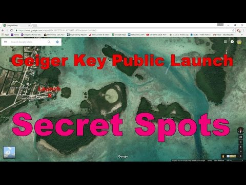 Florida Keys Kayak Fishing Tips - Geiger Key Fishing Spots