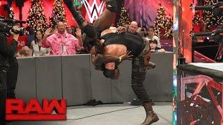 Braun Strowman lays waste to Sin Cara and Titus O