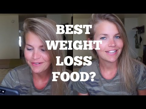THE BEST FOOD FOR WEIGHT LOSS? // RAPID FIRE Q&A