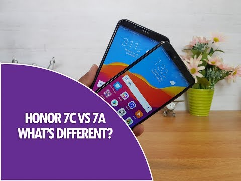 Honor 7C vs Honor 7A- What are the Differences?