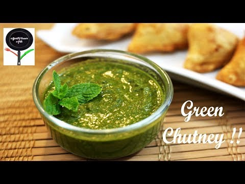 Green Chutney (Coriander and Mint) | Step-by-step demo to make Smooth and Thick Chutney!