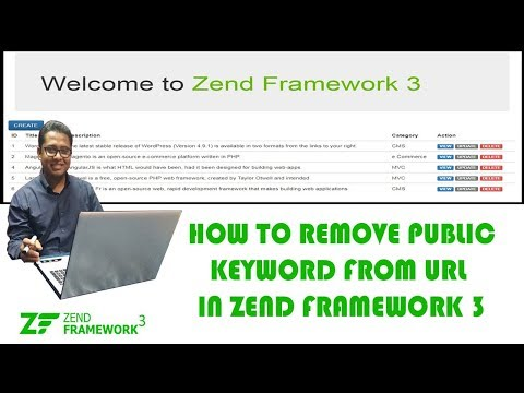 How to Remove Public Keyword from URL in Zend Framework3 Part-3
