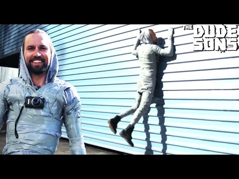 The Duct Tape Suit Experiment Challenge! - Will it Hold? - The Dudesons
