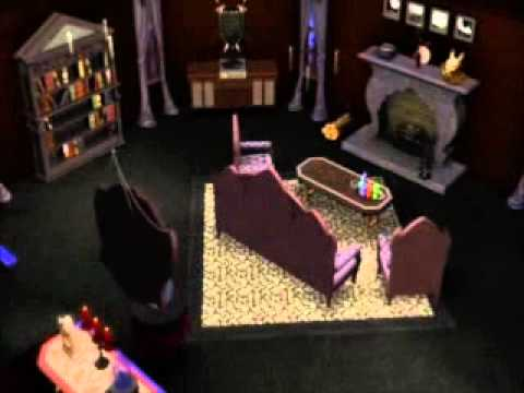 The Sims 3 Gothic house