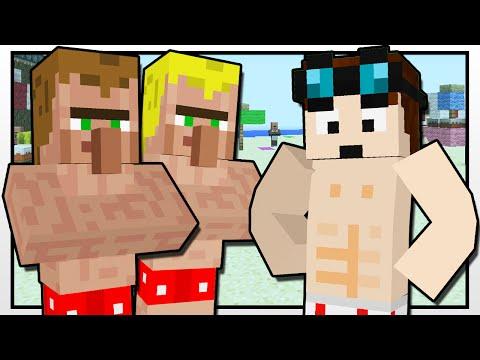 Minecraft   THE BEACH CONTESTS!!   Custom Mod Adventure