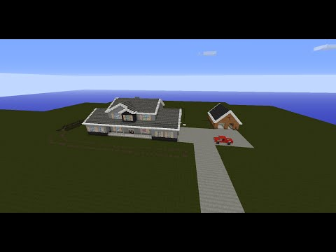 RomanAtwood's house in minecraft