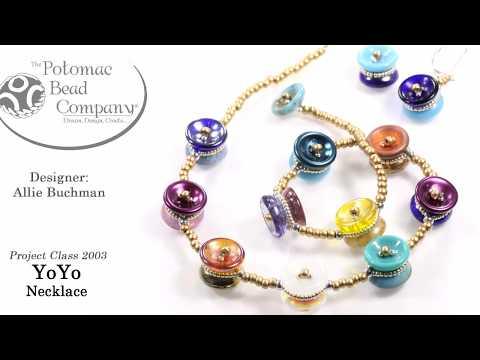 YoYo Necklace & Earrings (DIY Tutorial)