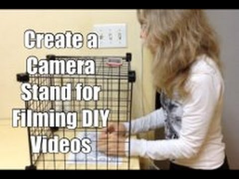 Create Camera Stand for Filming DIY Videos from Overhead