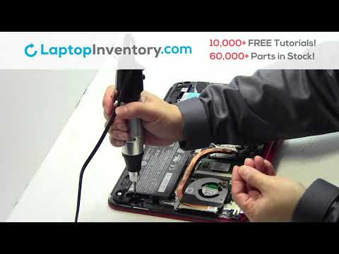 How to Replace HP Pavilion 11-N030CA Laptop Motherboard and Fan, Dismantle 11-N100 11-N001SE
