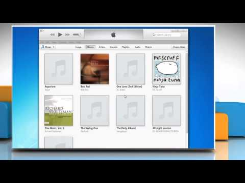 How to Backup and restore the iTunes® library on a Windows® 7 PC