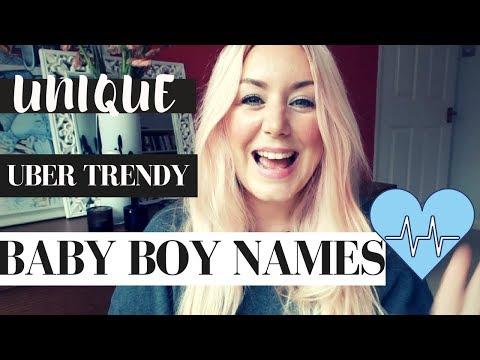 UBER TRENDY & UNIQUE BABY BOY NAMES | SJ STRUM BABY NAME MONDAYS