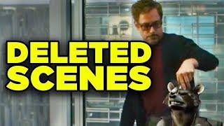 Avengers Endgame Deleted Scenes Revealed! Comic Con Blu-Ray Trailer Breakdown! #SDCC