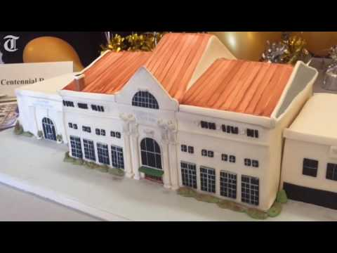 Baker makes edible replica of Terminal Station