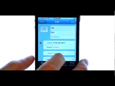 How Do I Delete A Contact From My Apple iPhone 4S?