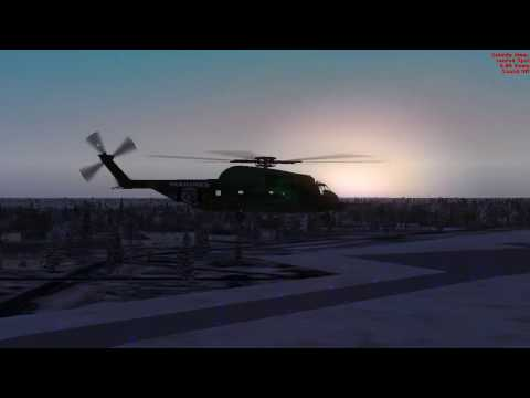 FSX - City Helicopter Flying - Tracking Suspects