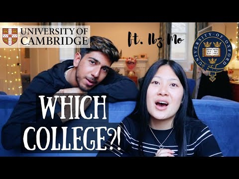 HOW TO CHOOSE AN OXFORD OR CAMBRIDGE COLLEGE ft. IBZ MO | viola helen