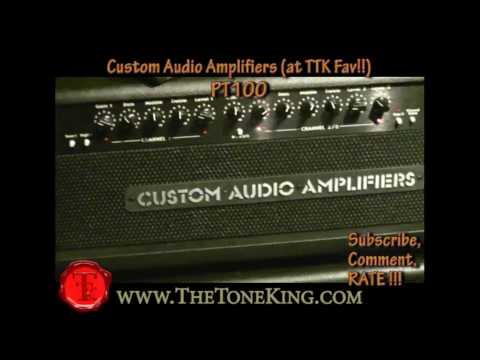 Custom Audio Amplifiers w. Suhr Guitar Demo - NAMM 2010 -CAE CAA Bradshaw Electronics TTK 10
