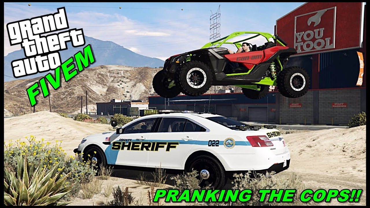 CAN-AM X3 TURBO PRANKING COPS (I TROLL COPS BY PAINTING THE X3) - GTA 5 ROLEPLAY - EP.25 - GTA MODS