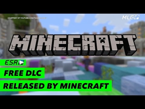 Free DLC is coming to Minecraft!
