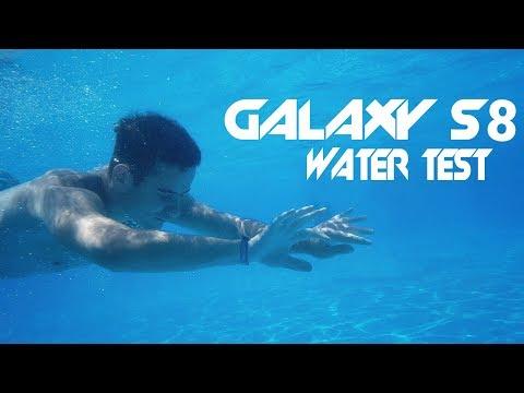 Samsung Galaxy S8 Pool Water Test (4K Underwater Video)