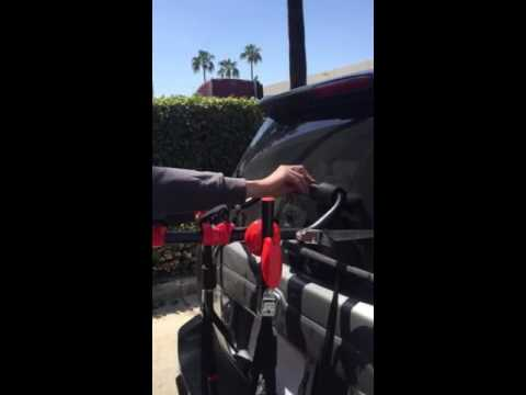 3 bike racks how to install in SUV