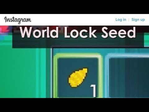 How To Get World lock Seed ! [ Full Explain! ] - Growtopia