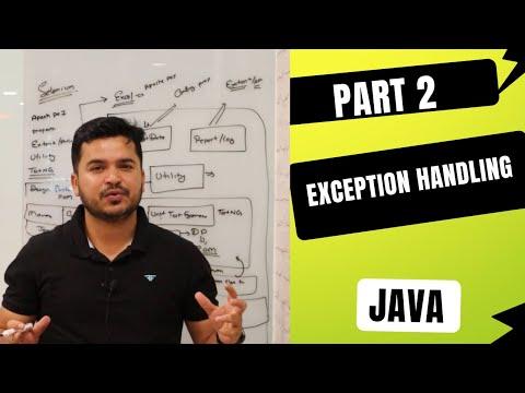Exception Handling in Java Part 2