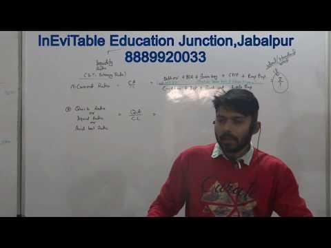 ratio analysis part 2 for class 12 bcom mcom mba jaiib ca cs cma