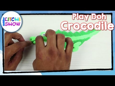 How To Make  Clay Crocodile Easy|Simple & Easy Play doh Videos | Making of Clay Animals Step By Step