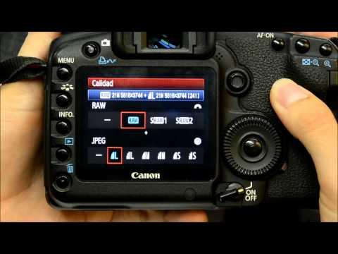 ¿Cómo configurar tu cámara para disparar en formato RAW?
