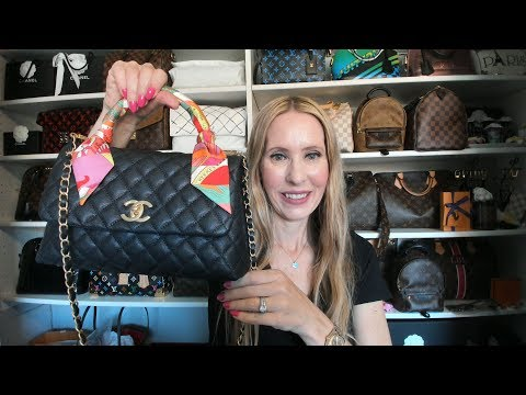 What's in my Bag ft. Chanel Coco Handle Small
