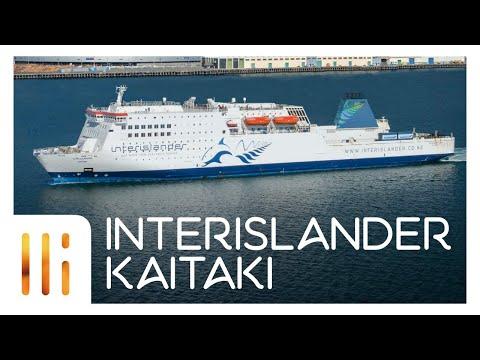 INTERISLANDER KAITAKI - Ship Tour/Review 2017