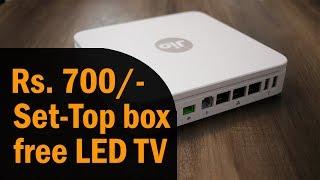 Reliance Jio GigaFiber (JIOFIBER) plan from Rs. 700, free TV, Jio Set-Top Box, premium jio fiber