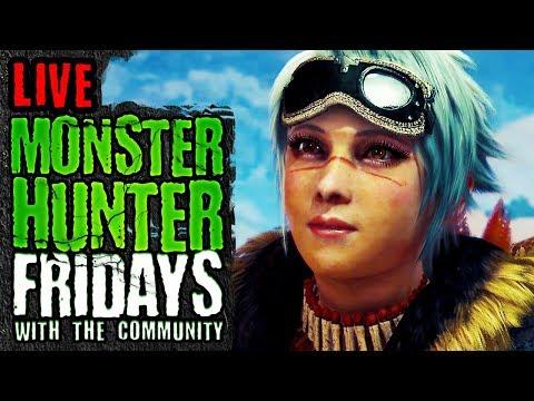 Monster Hunter World New Tzitzi-Ya-Ku Head Gear and Event Updates