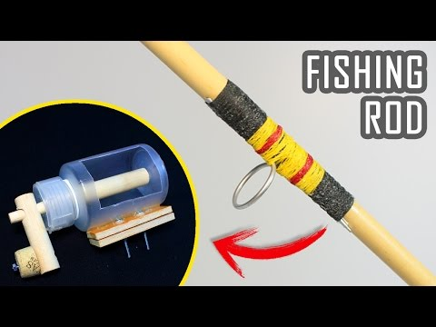 How To Make a Fishing Rod and Reel at Home | DIY Fishing | Fishing Hacks