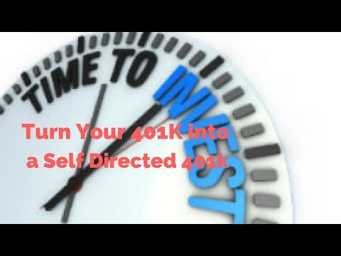 Turn Your 401k into a Self Directed Retirement Cash Machine