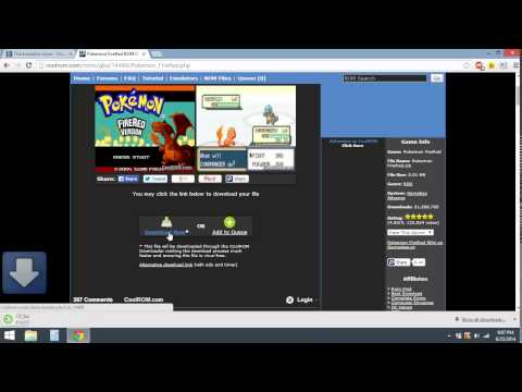 How to get GBA (Gameboy Advance) Emulator & Rom on PC (Windows 8)